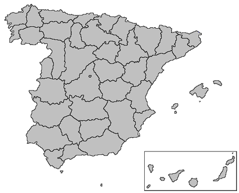 File:Map Spain 1810.png   Wikimedia Commons