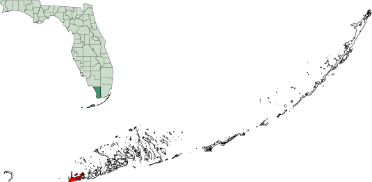 Map Florida Keys.File Map Of Florida Keys Highlighting Key West Png Wikimedia Commons