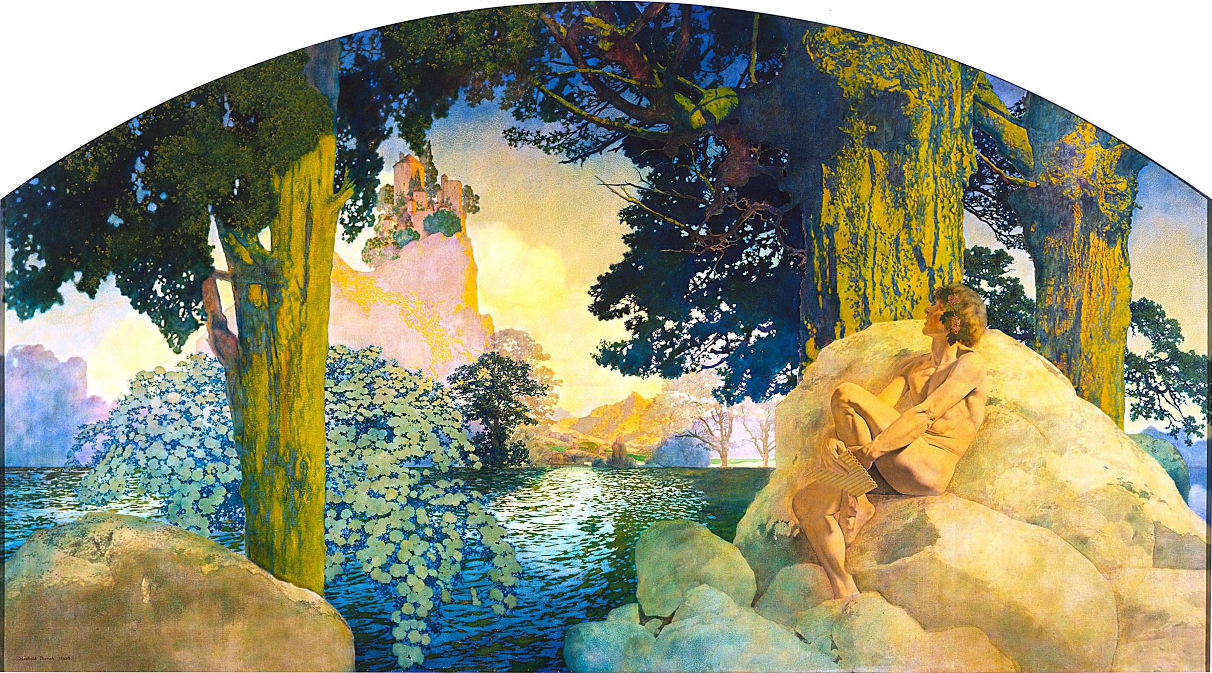 Maxfield Parrish Original Paintings