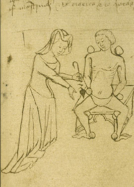 Fichier:Medieval female physician.jpg