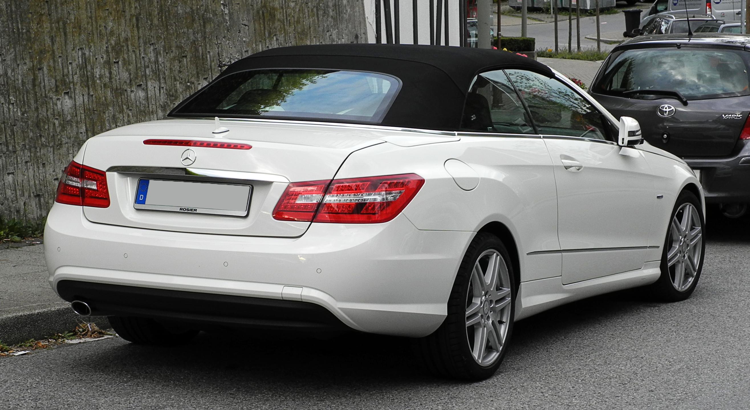 File Mercedes Benz E 250 Cgi Blueefficiency Cabriolet