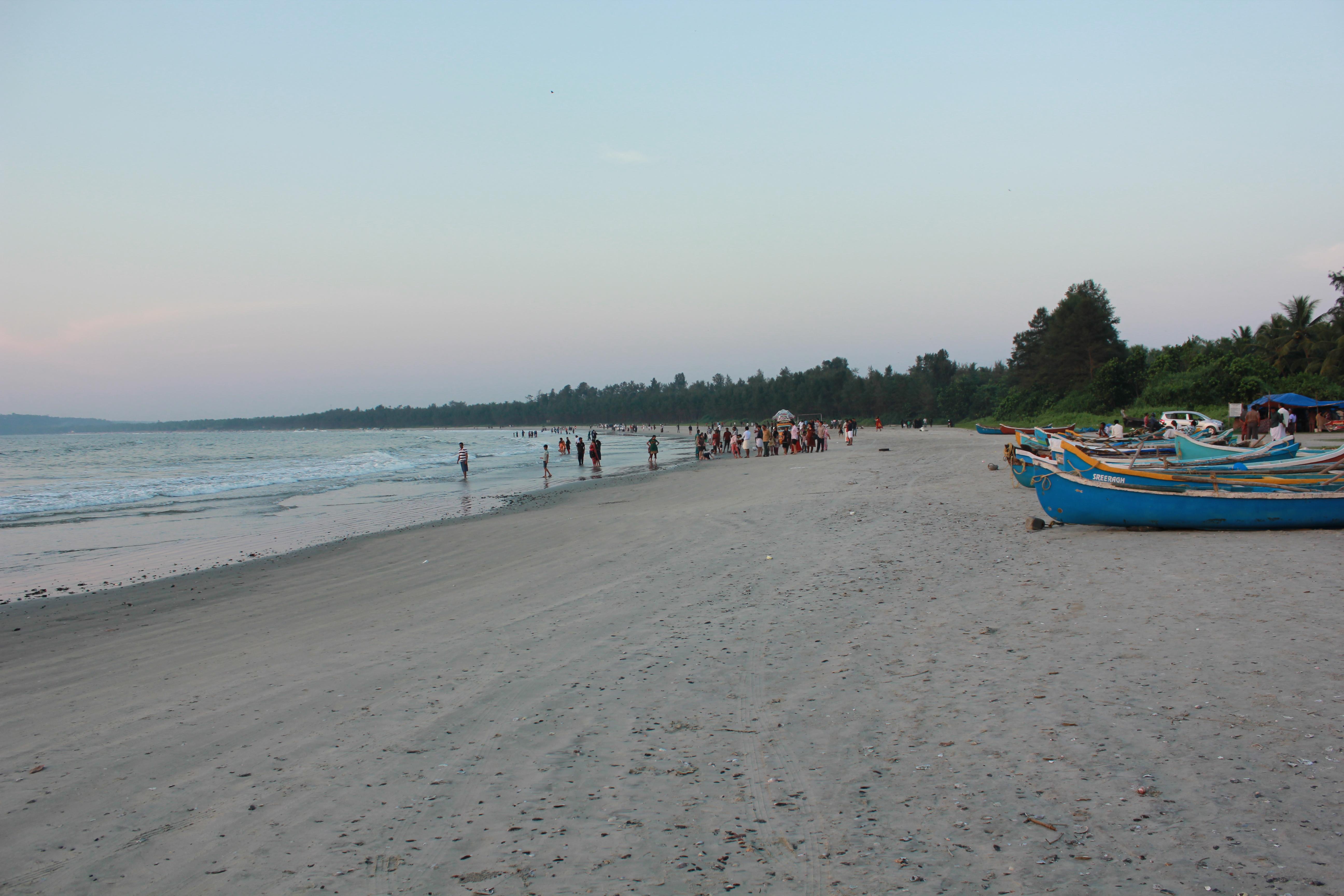 Muzhappilangad beach Kannur Kerala India