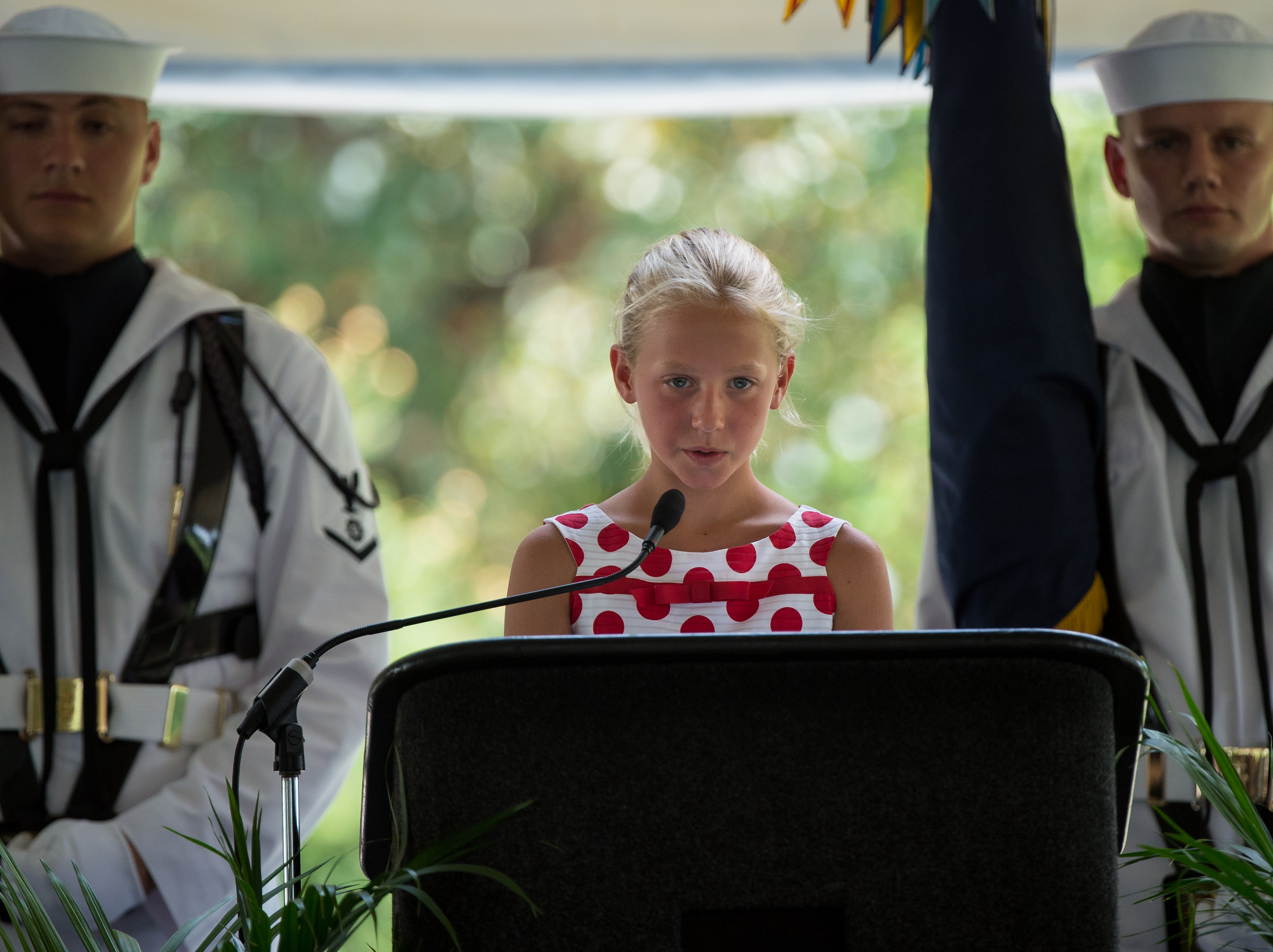 File:Neil Armstrong family memorial service ...
