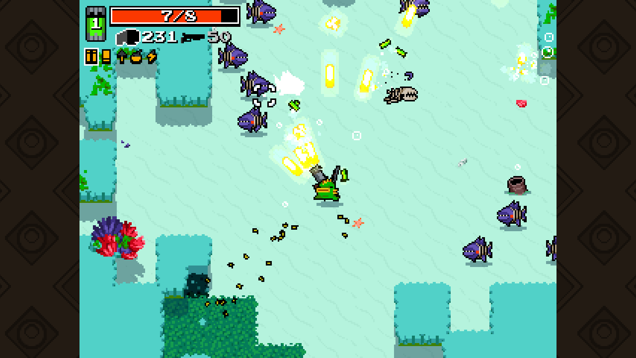 nuclear throne how to get in a van