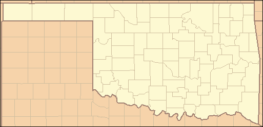 List Of Counties In Oklahoma Wikipedia