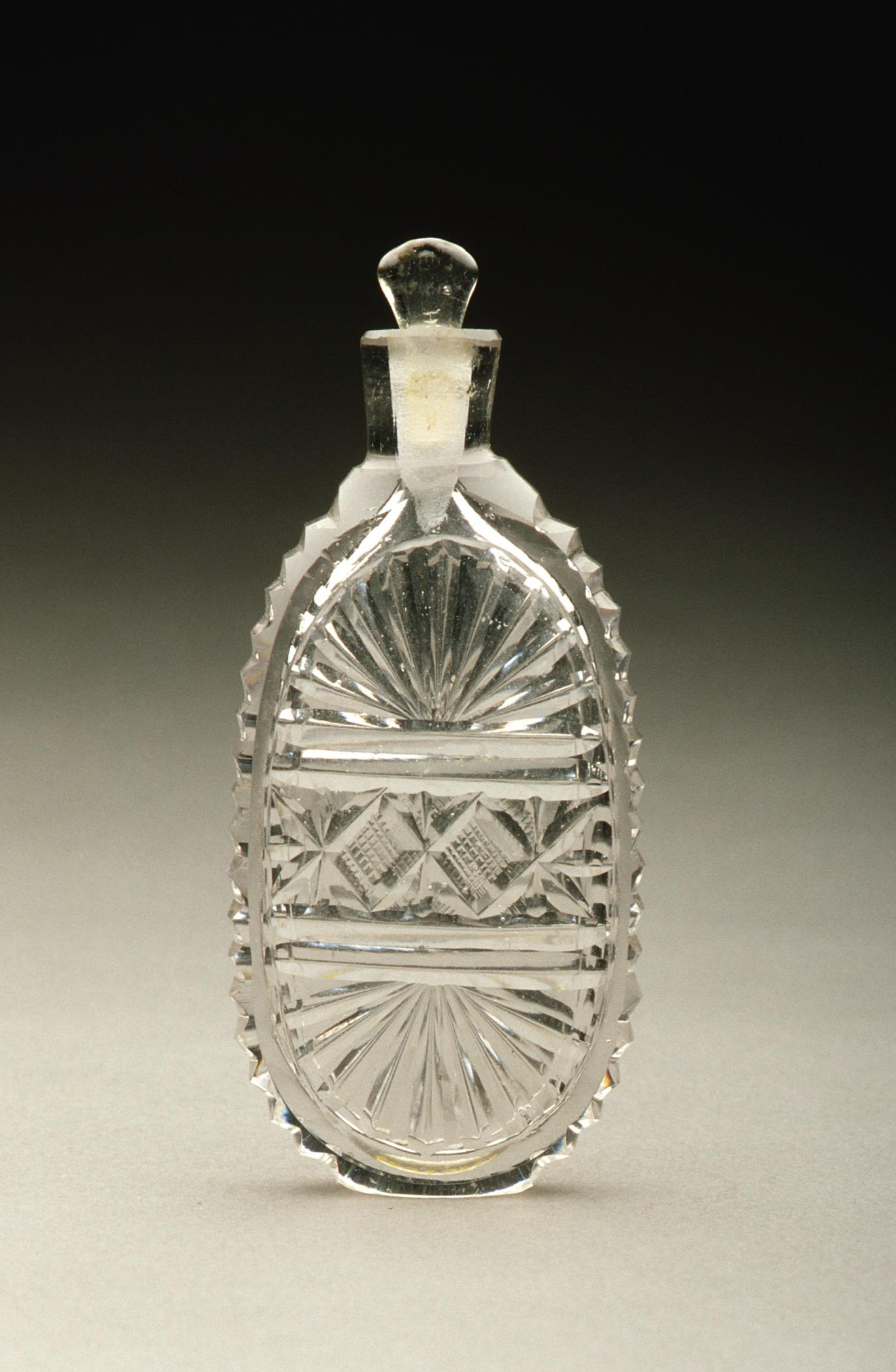 Cut Glass Perfume Bottles
