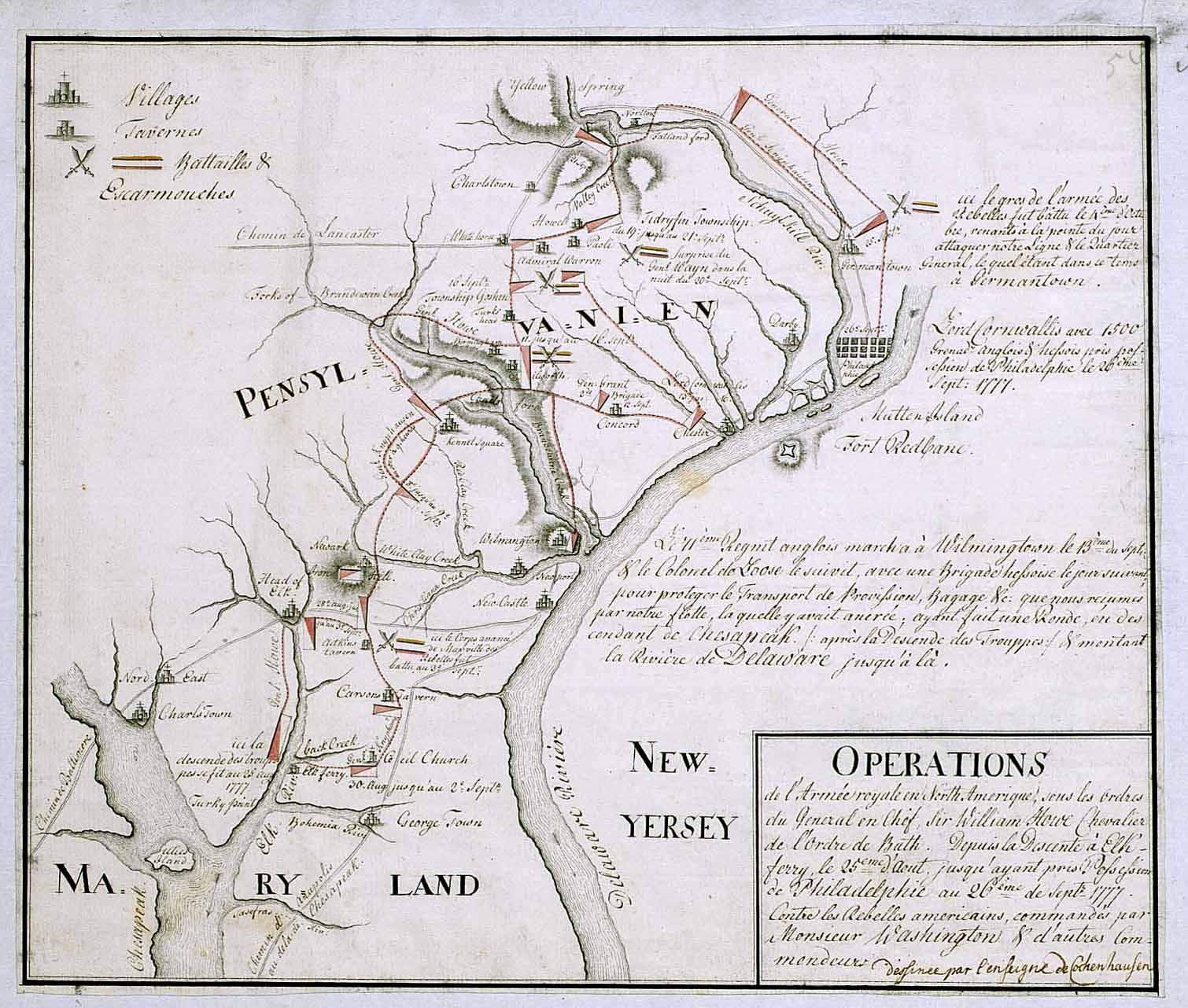 brandywine battlefield map - photo #35