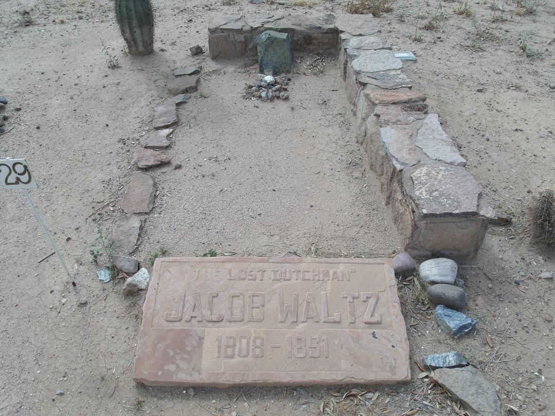 grave of the deutschman himself