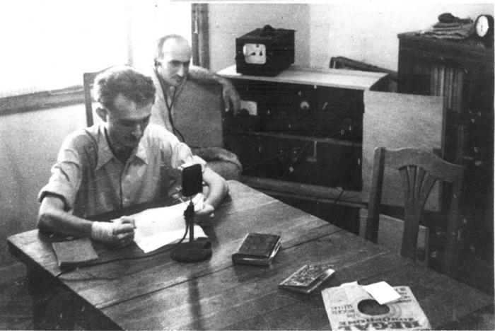 שידור רדיו של קול לוחמי חרות ישראל (לח''י