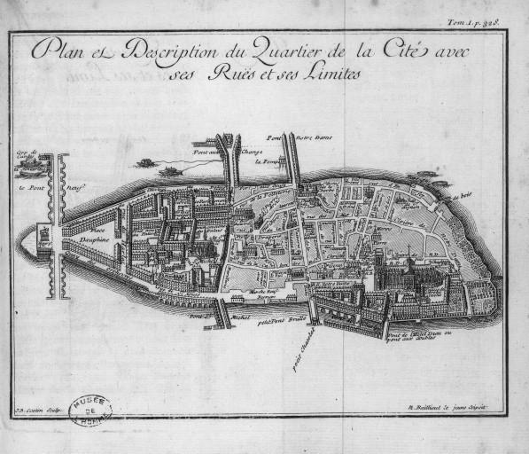 Fichier:Plan et description du quartier de la Cité, avec ses rues et ses limites, par Jean-Baptiste Scotin (1678-?).jpeg
