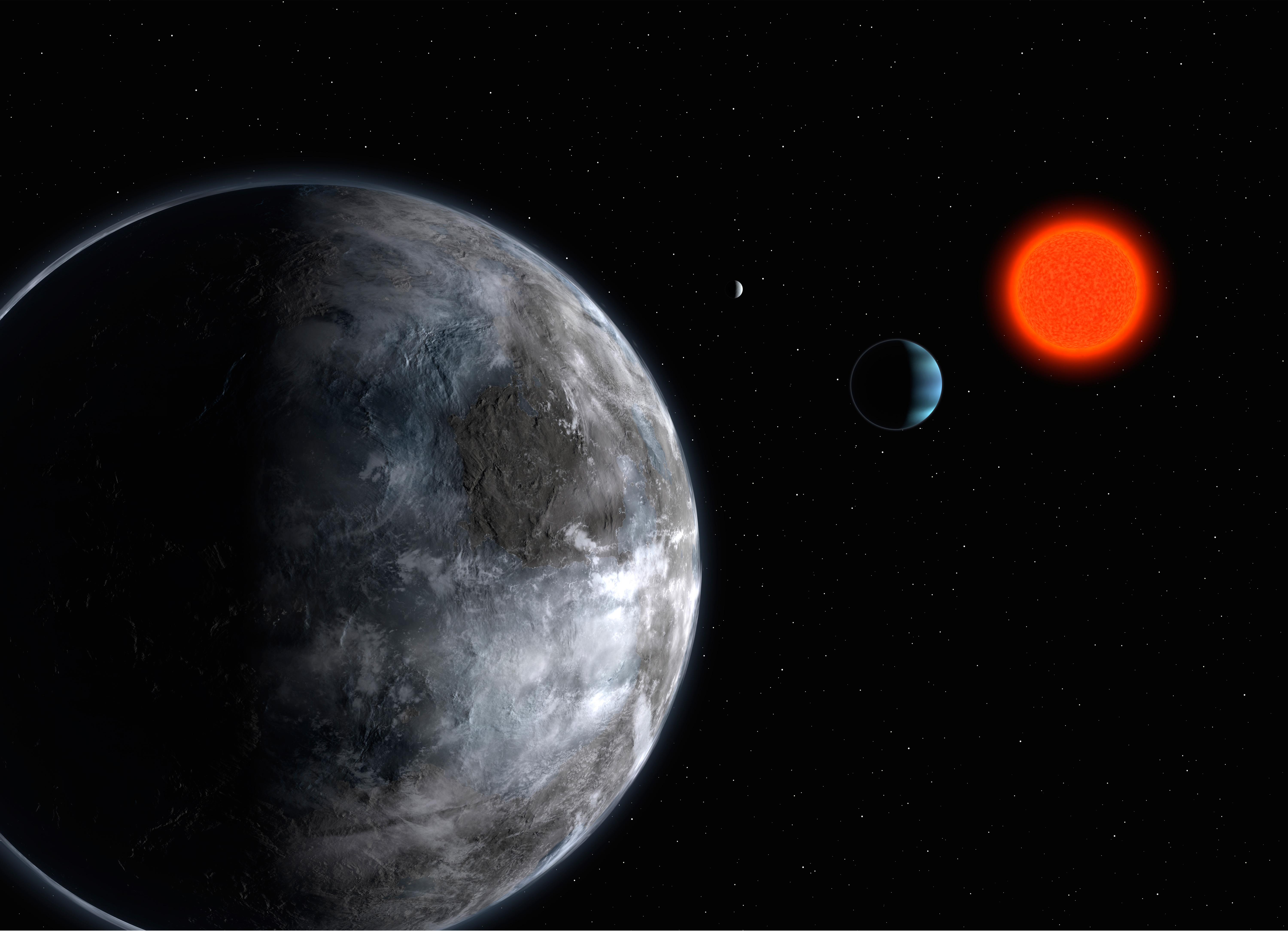 New Planet Gliese 581 - Pics about space