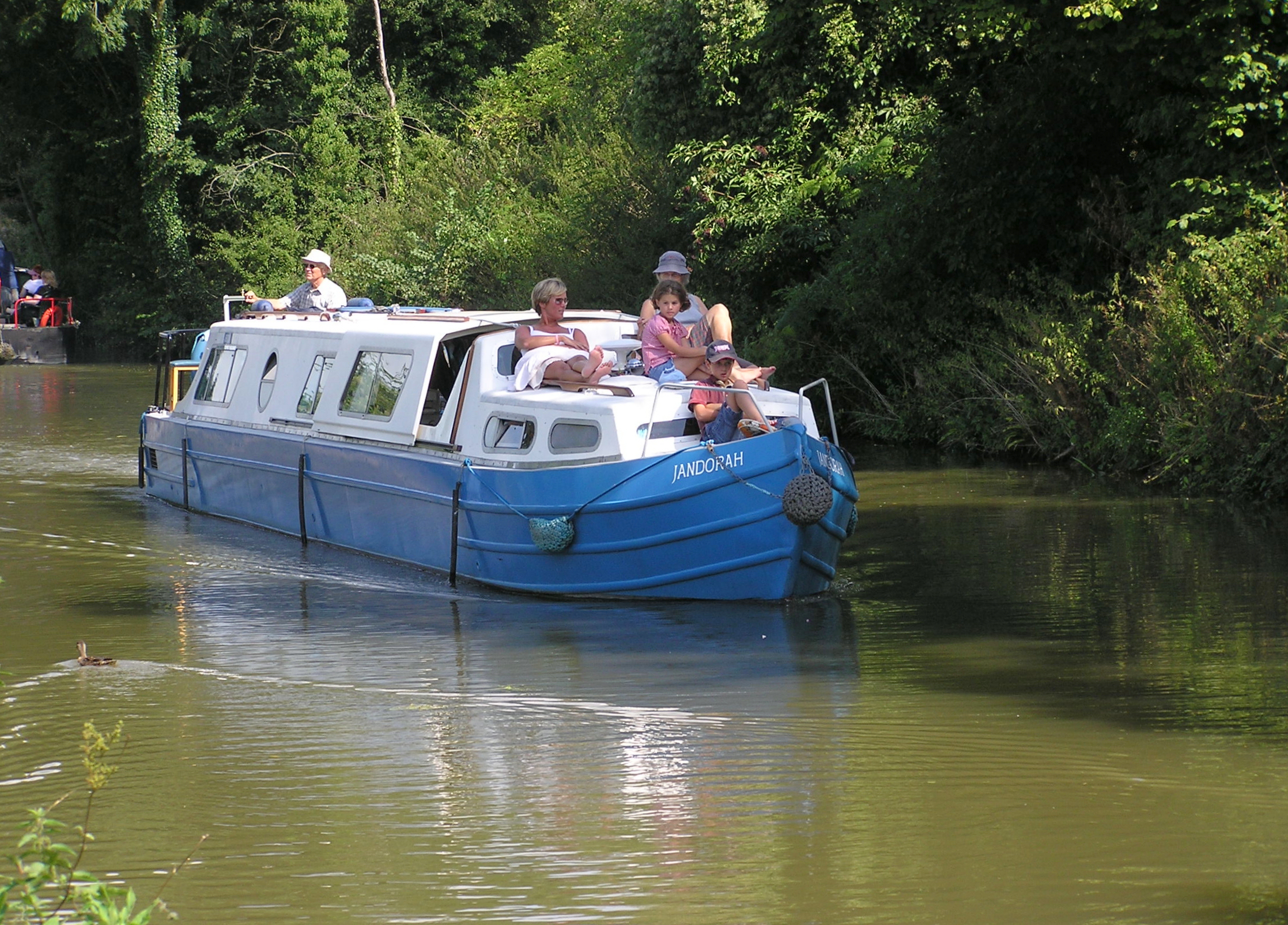 canal pleasure boat