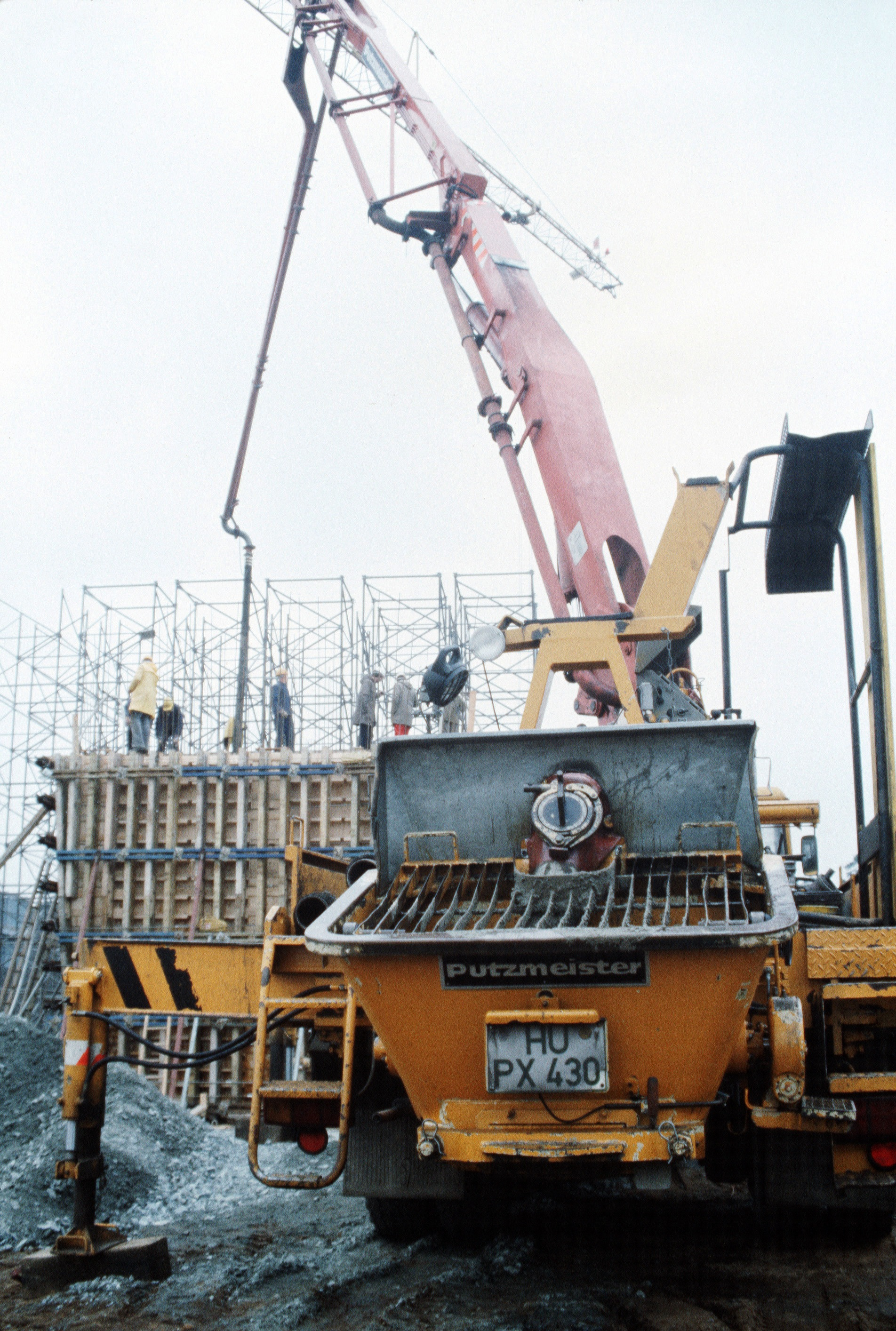 A Concrete Pump