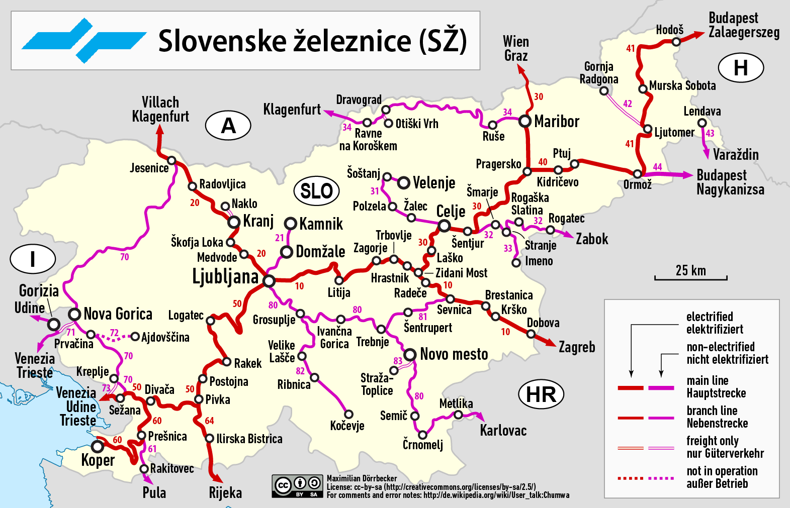 FileRailway map of Sloveniapng Wikimedia Commons