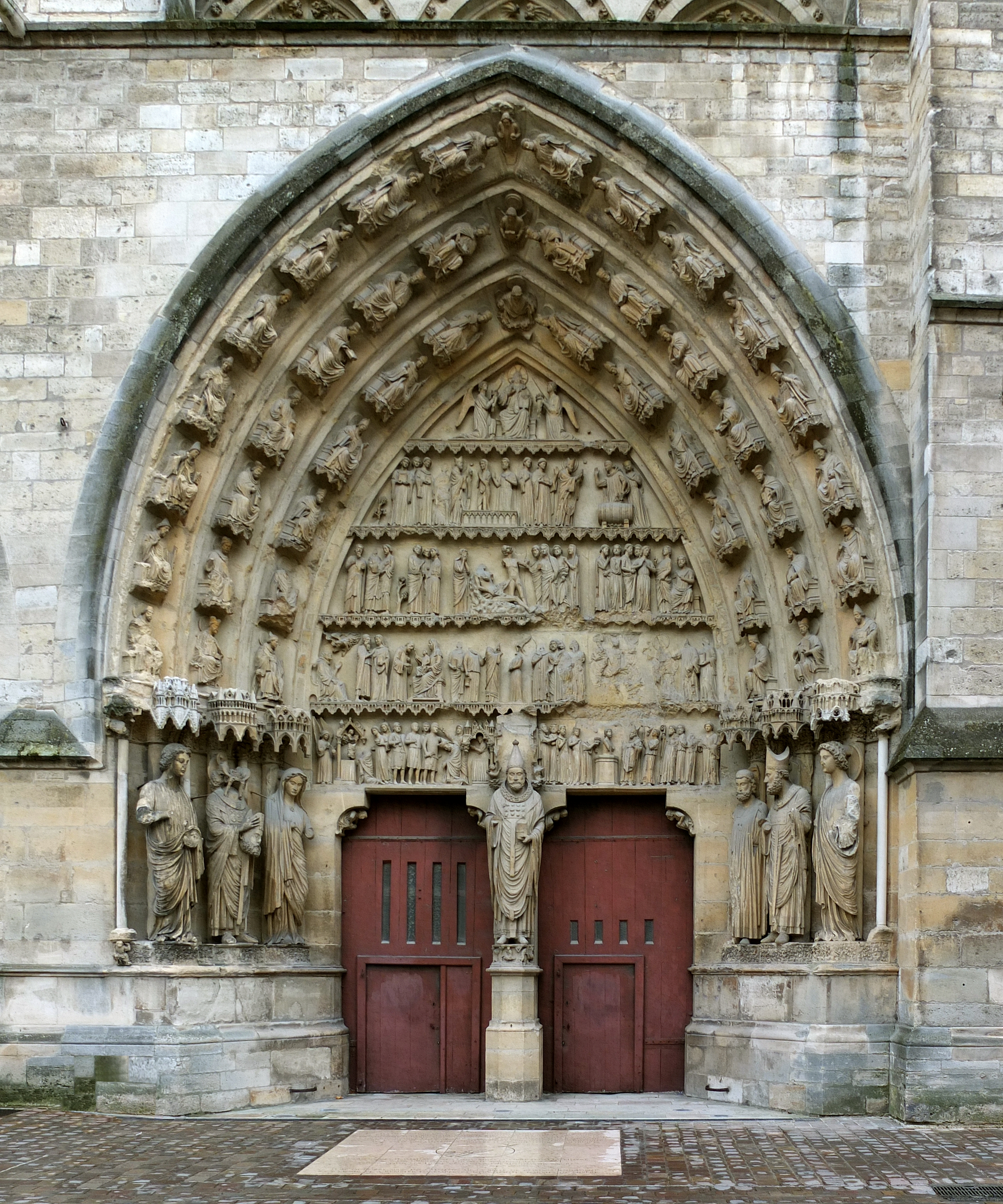 File:Reims cathedral north portal.jpg - Wikimedia Commons