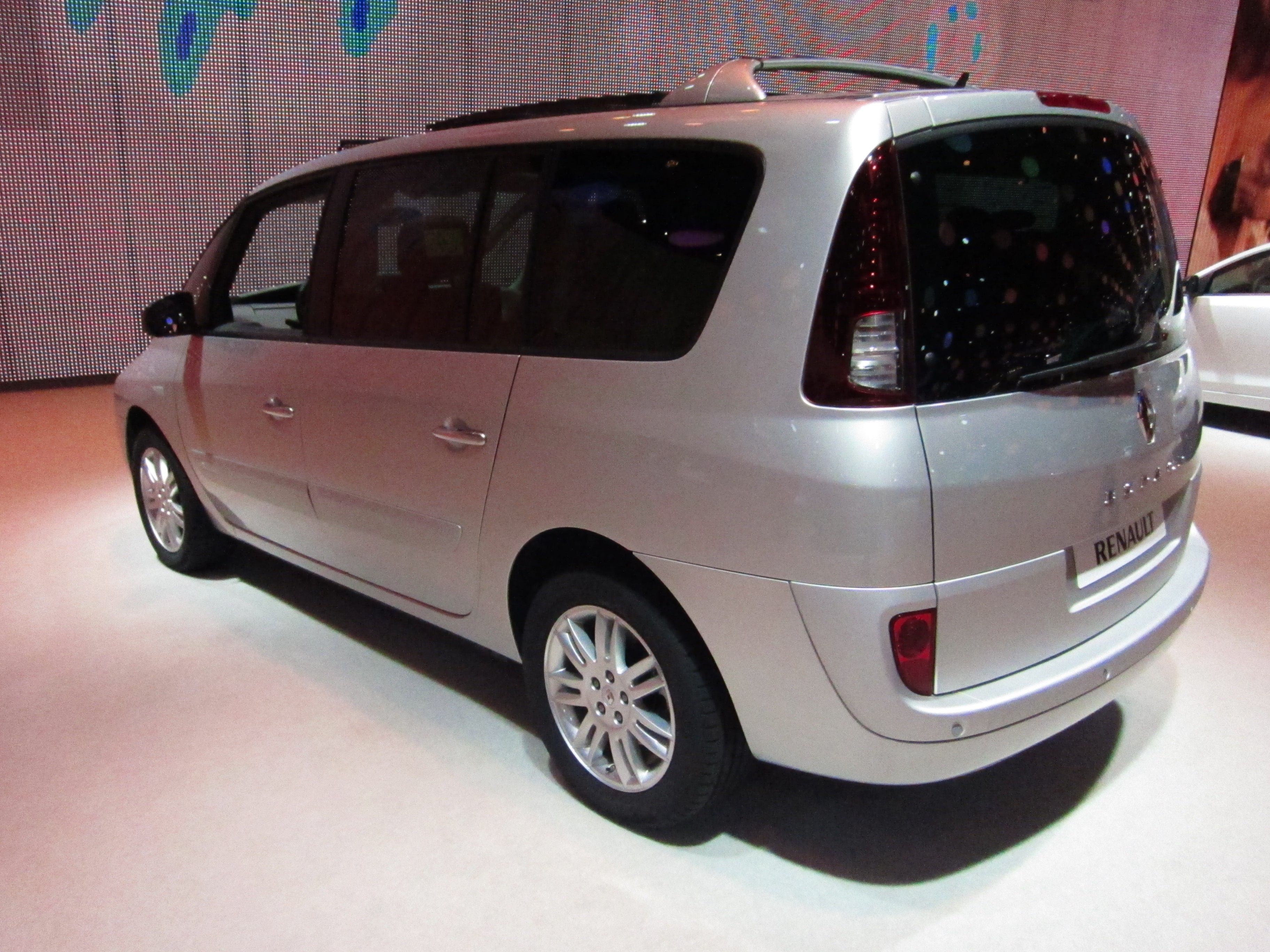 file renault espace facelift rear quarter jpg. Black Bedroom Furniture Sets. Home Design Ideas