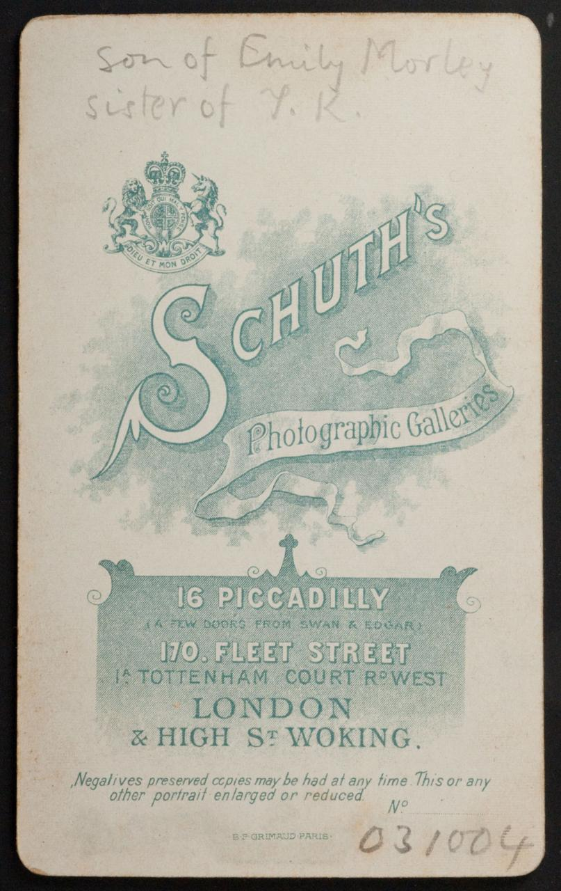 FileReverse Of Carte De Visite By Schuth Early 1900s 8020247565