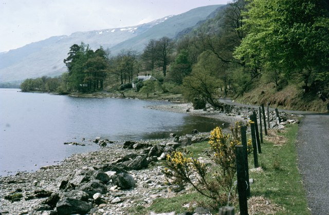 Road along Loch Voil - geograph.org.uk - 998008