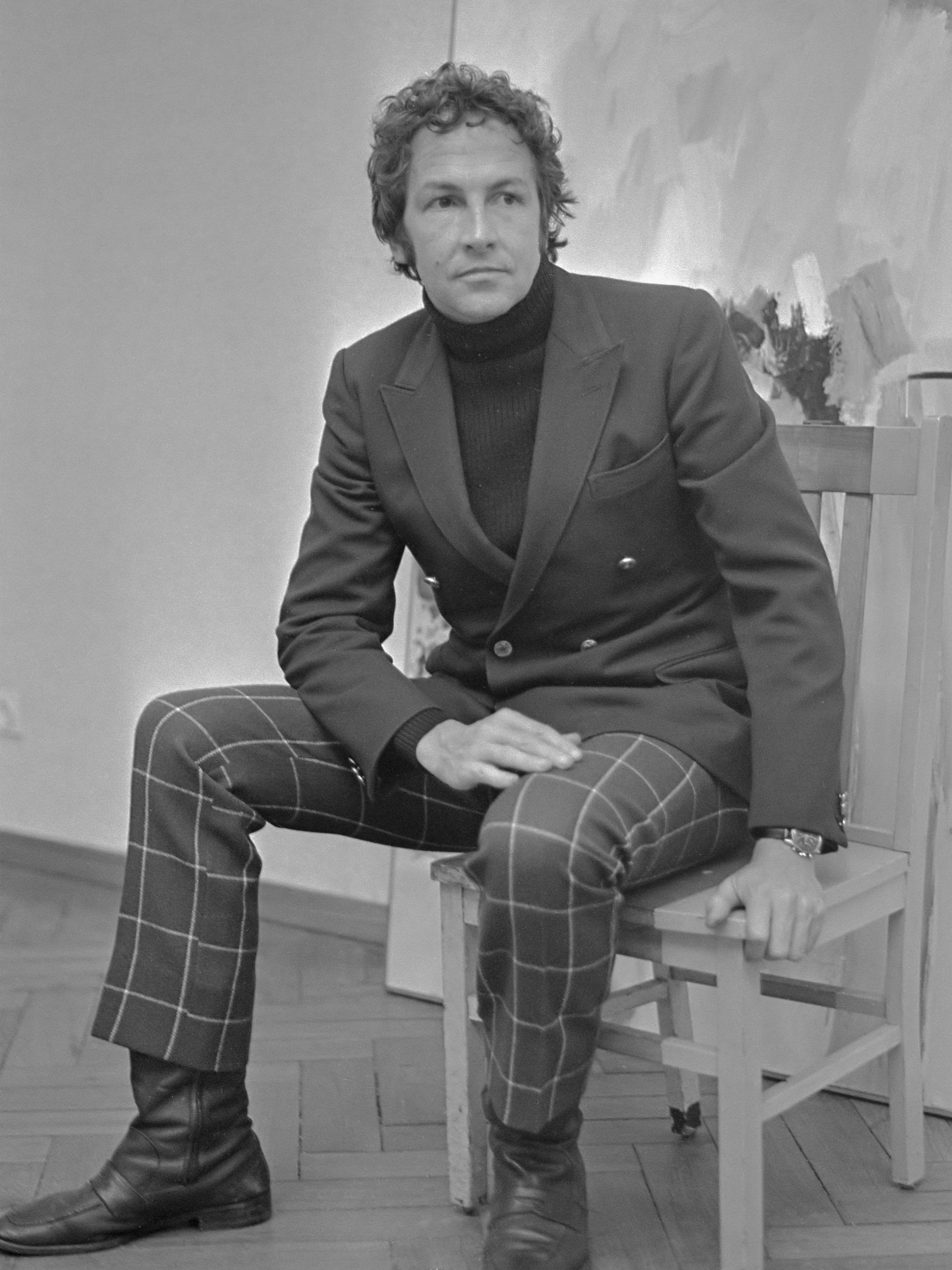 Portrait of Robert Rauschenberg