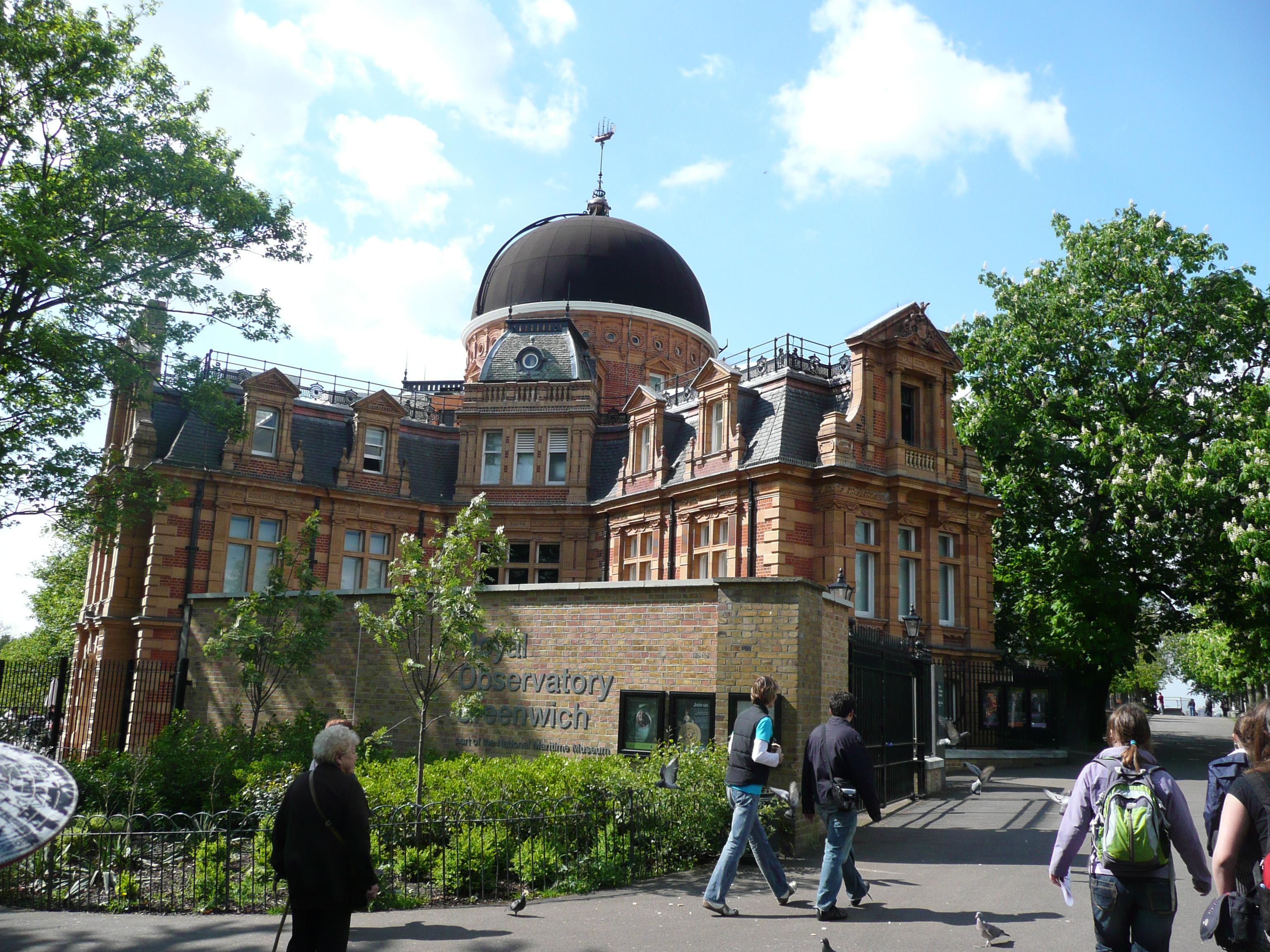 125 Year Royal Observatory In Greeniwch London Where