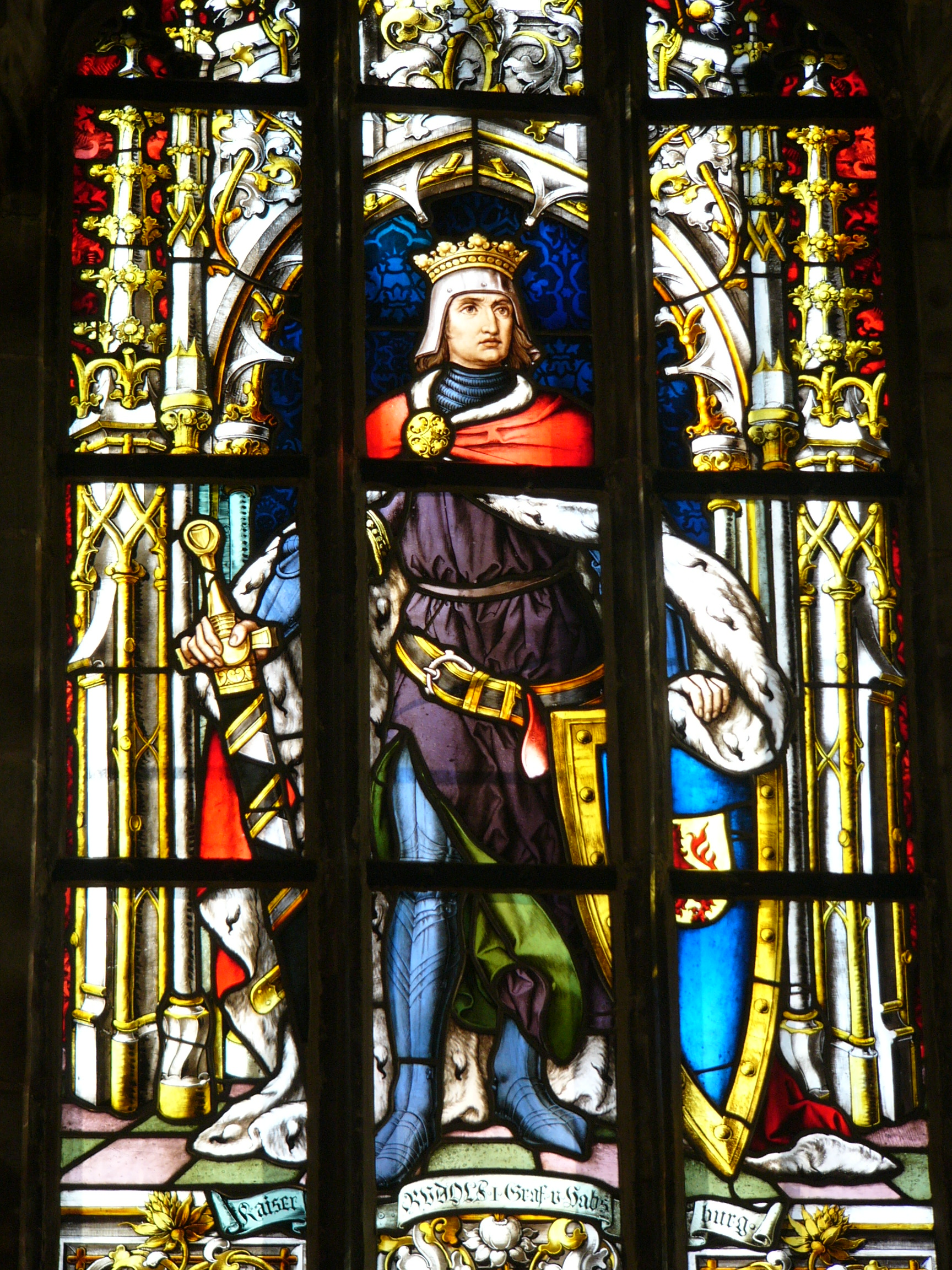 Alfred The Great Stained Glass