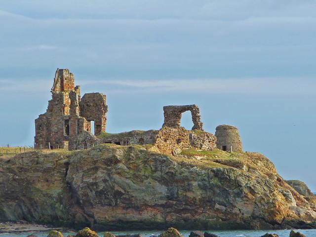 Ruins of Newark Castle, Fife