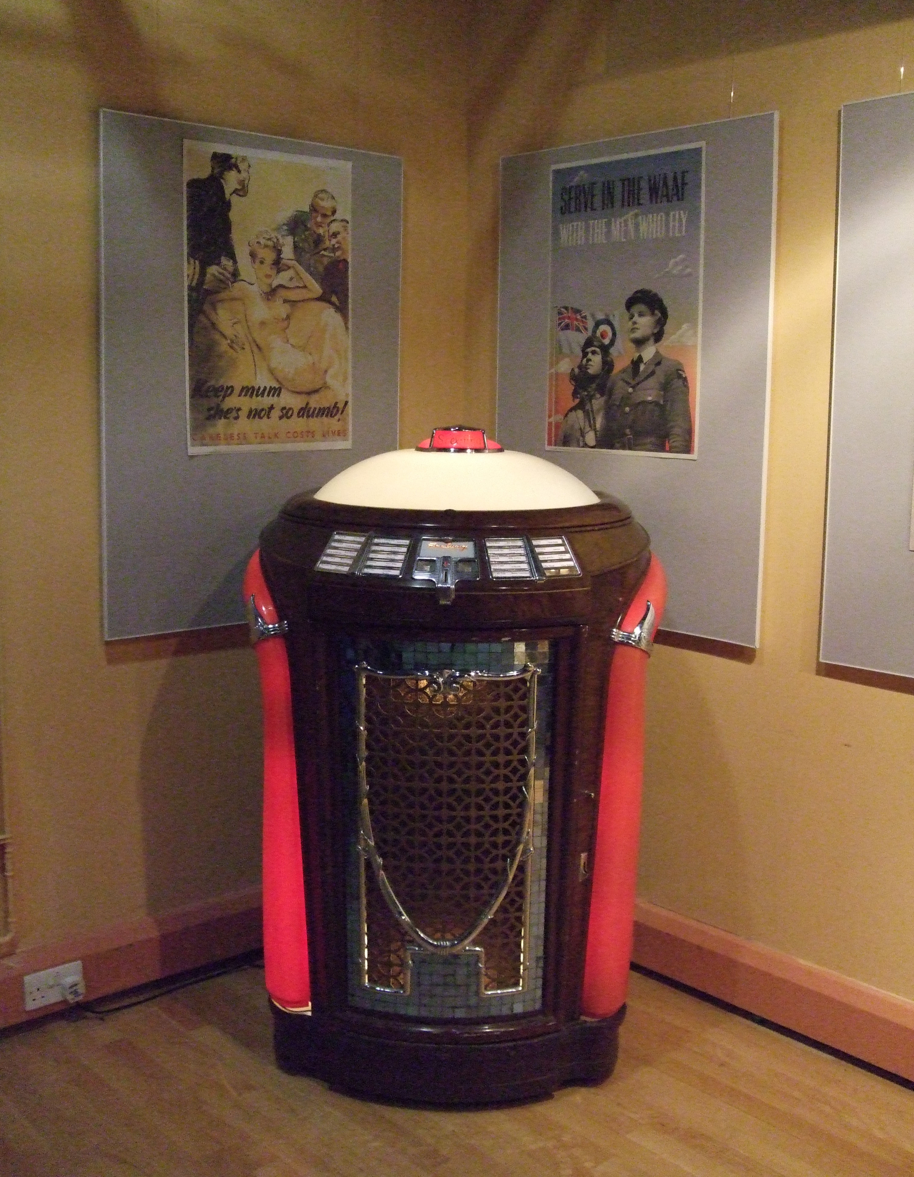 Seeburg Trashcan Jukebox Upper Dome Frame