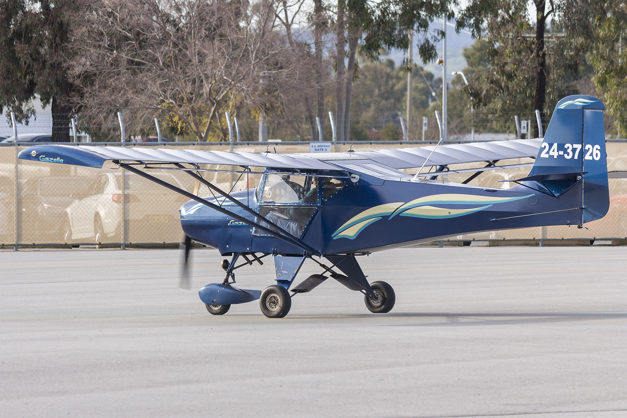 finest selection united states wholesale dealer File:Skyfox CA25N Gazelle (24-3726) taxiing at Wagga Wagga ...