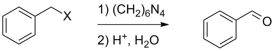 Схема реакции Соммле
