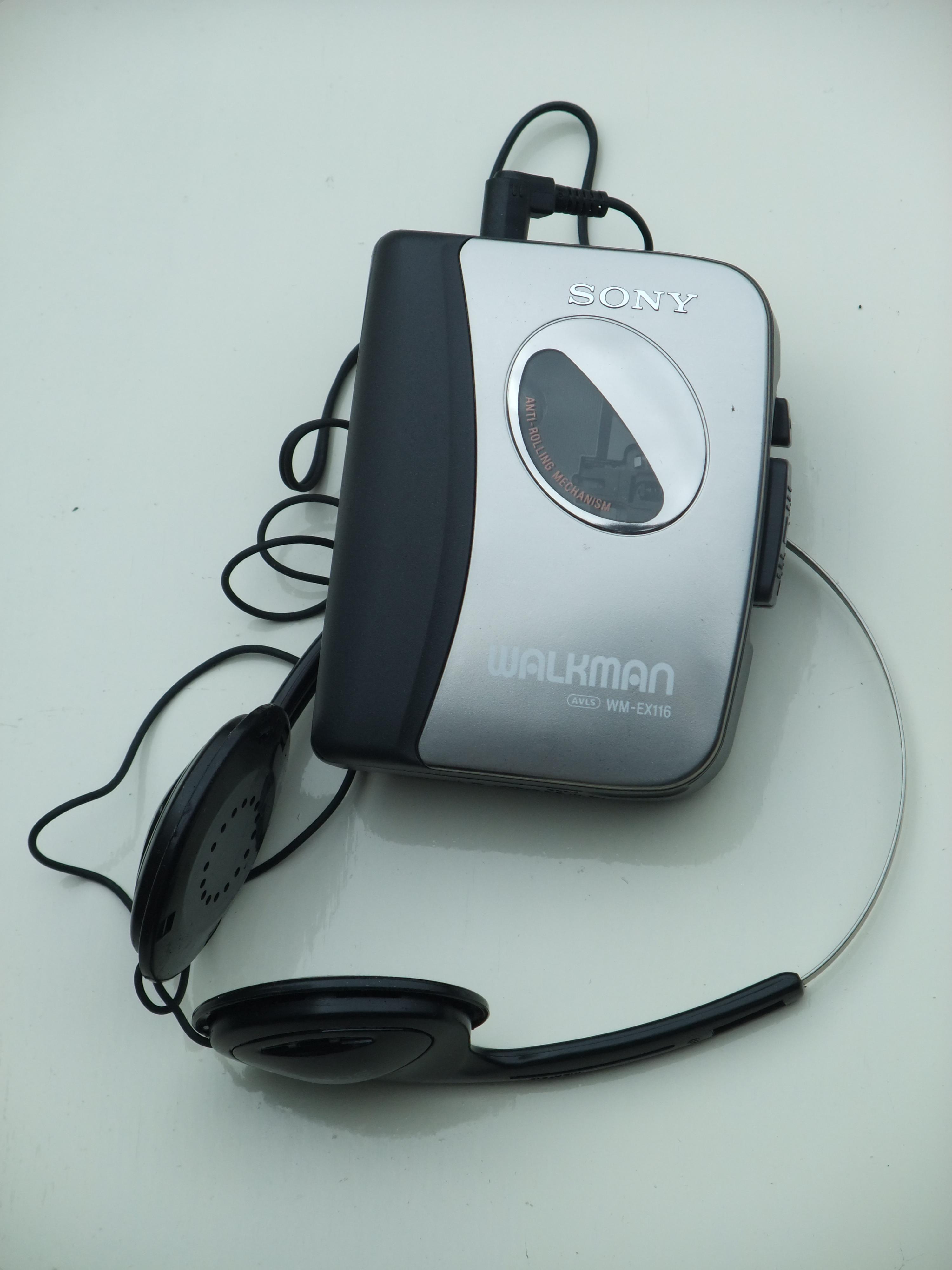 File Sony Walkman Wm Ex116 Cassette Player Jpg Wikimedia Commons