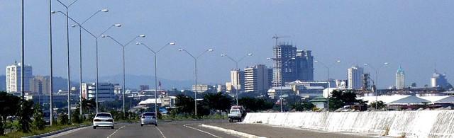 Cebu City Skyline from South Road.