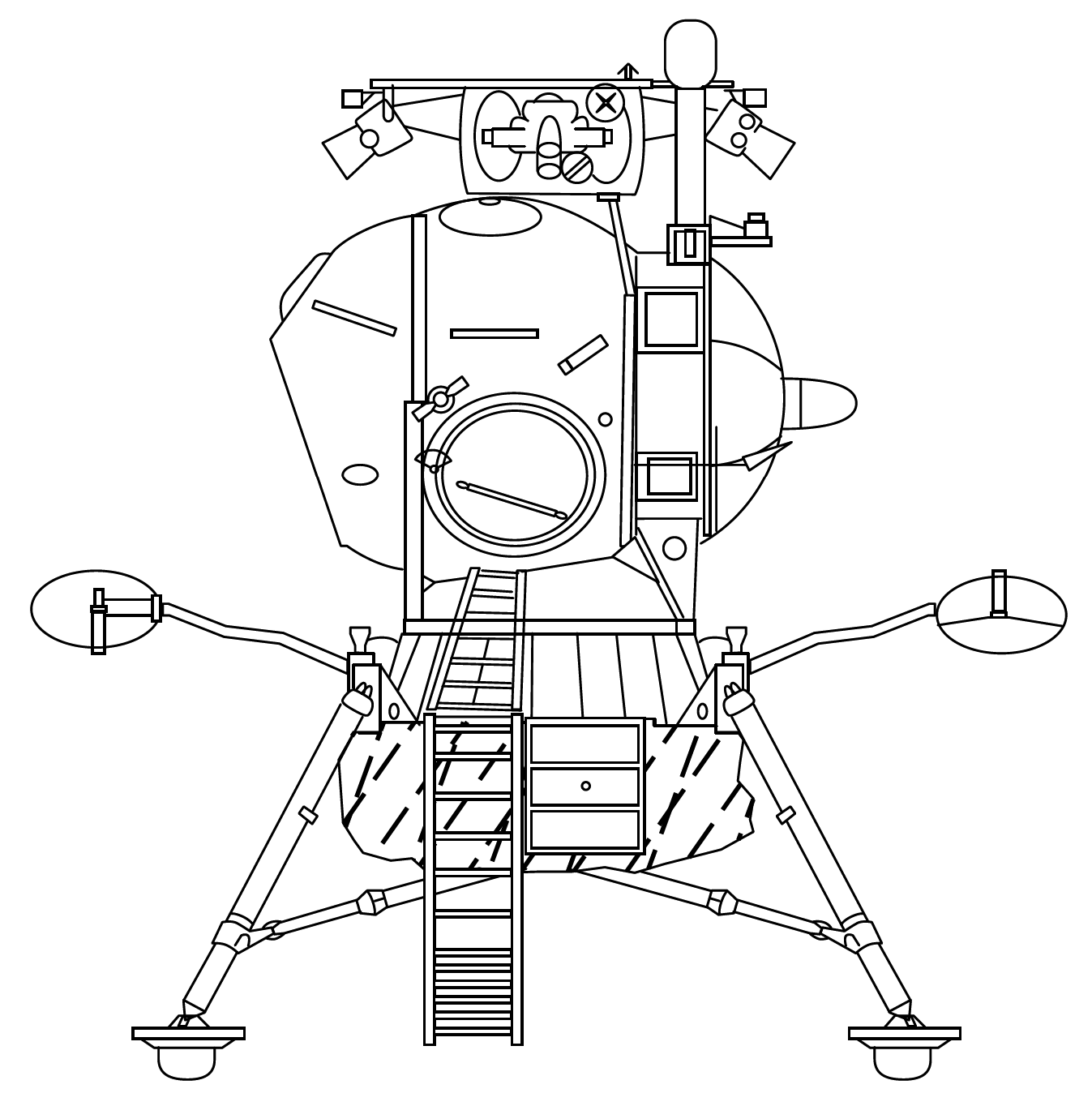 fichier soviet lunar lander drawing png  u2014 wikip u00e9dia