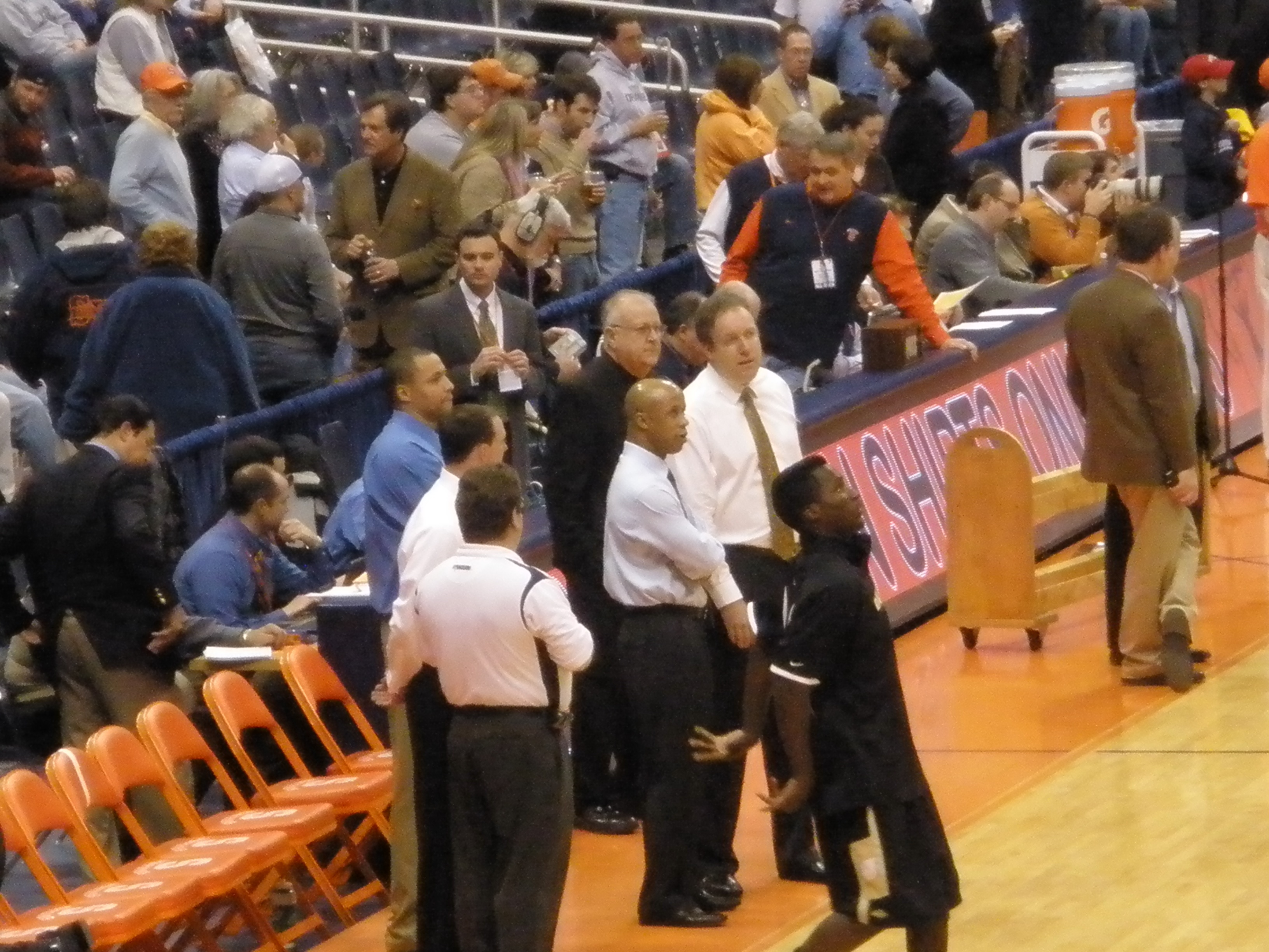 File Syracuse Basketball Assistant Coaches In 2009 Jpg
