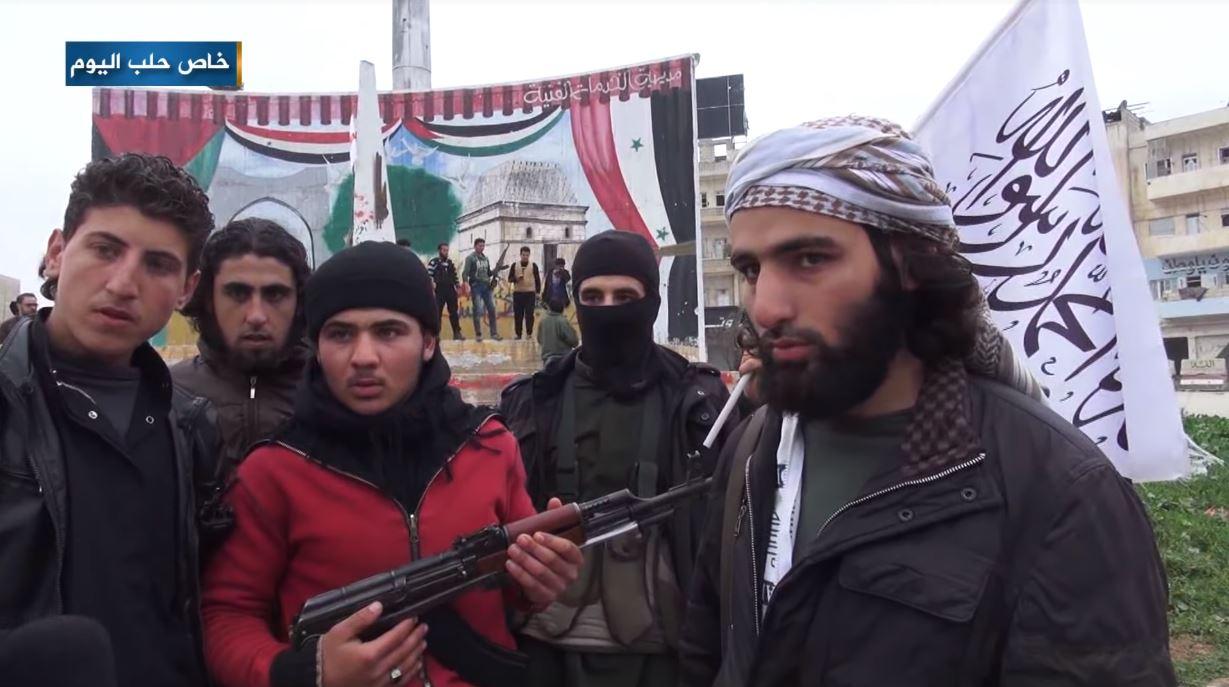 Syrian rebels Faylaq al-Sham Idlib.jpg