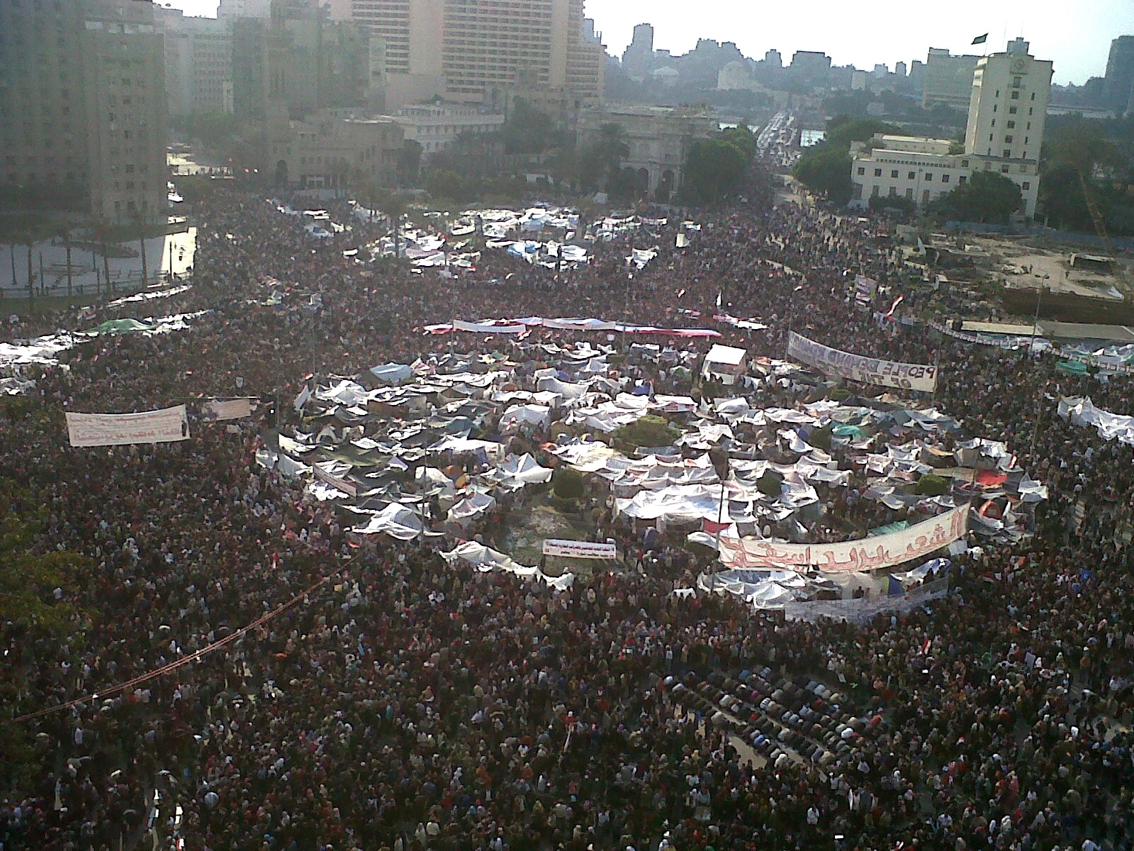 how social media affected the egyptian revolution