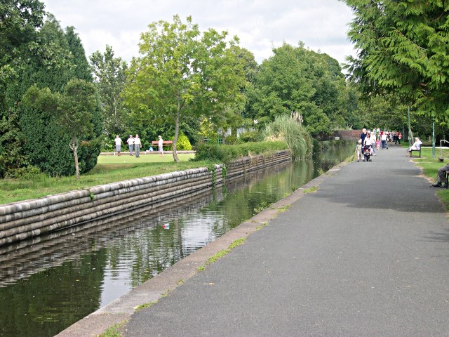 Tavistock Canal in the Meadows - geograph.org.uk - 332593