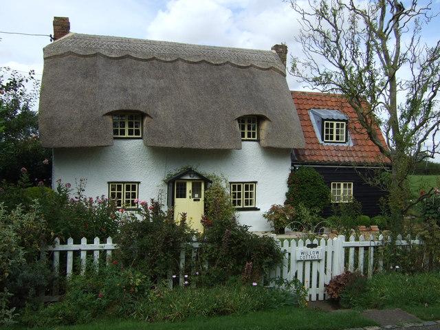 Thatched Cottage, Keysoe Row East, Keysoe Row - geograph.org.uk - 3130165