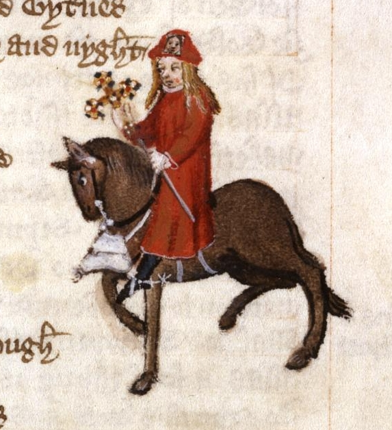 the use of satire through the pardoners character in canterbury tales a book by geoffrey chaucer Chaucer ironically agrees with the monk's point of view and innocently asks why should the monk make himself mad by pouring over a book in a cloister the monk's pleasure in hunting is a fitting object of satire.