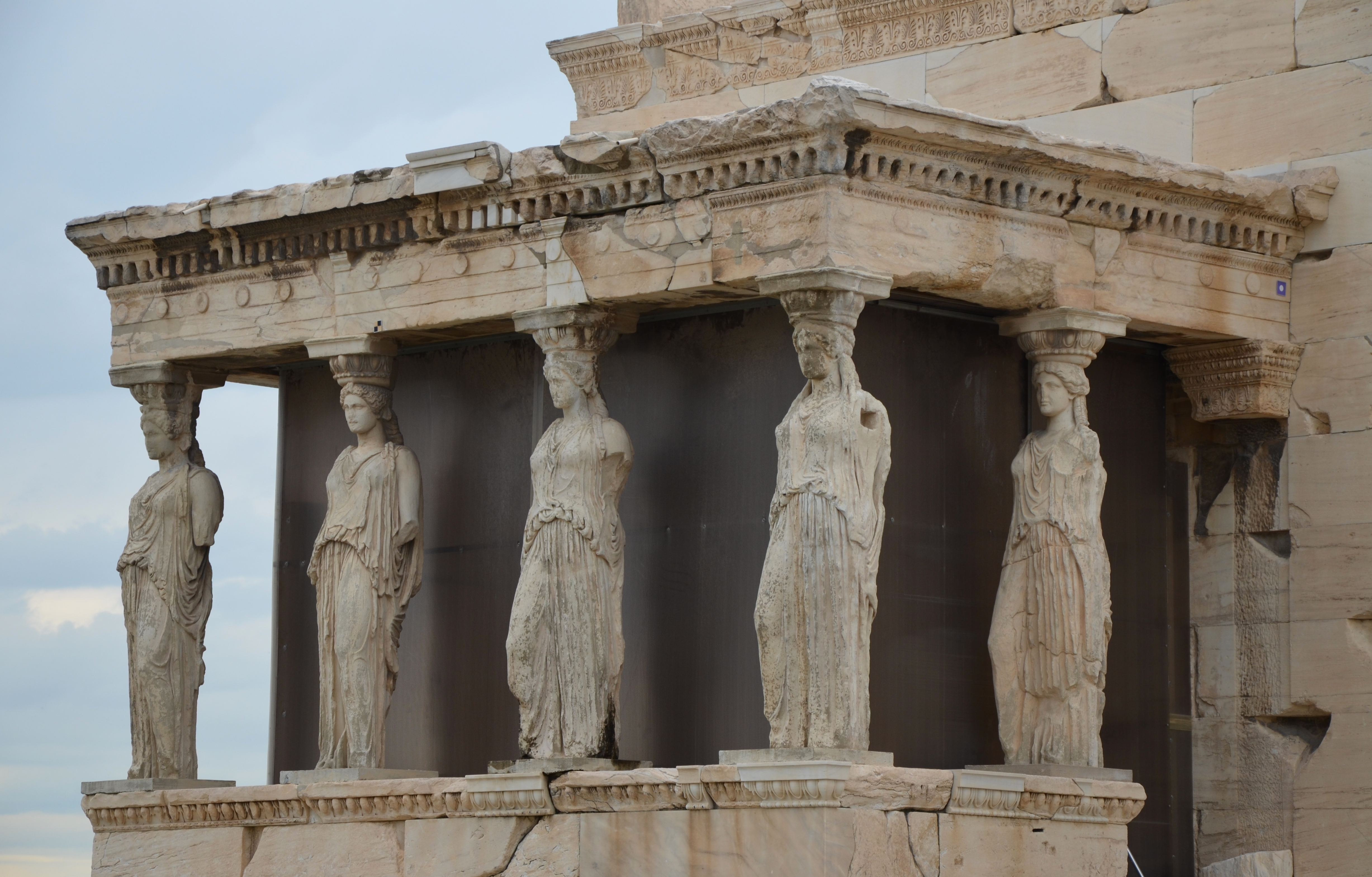 File:The Porch of the Caryatids, The Erechtheion ...