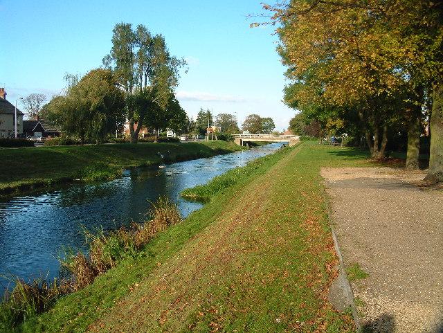 Description the river welland geograph org uk 28250