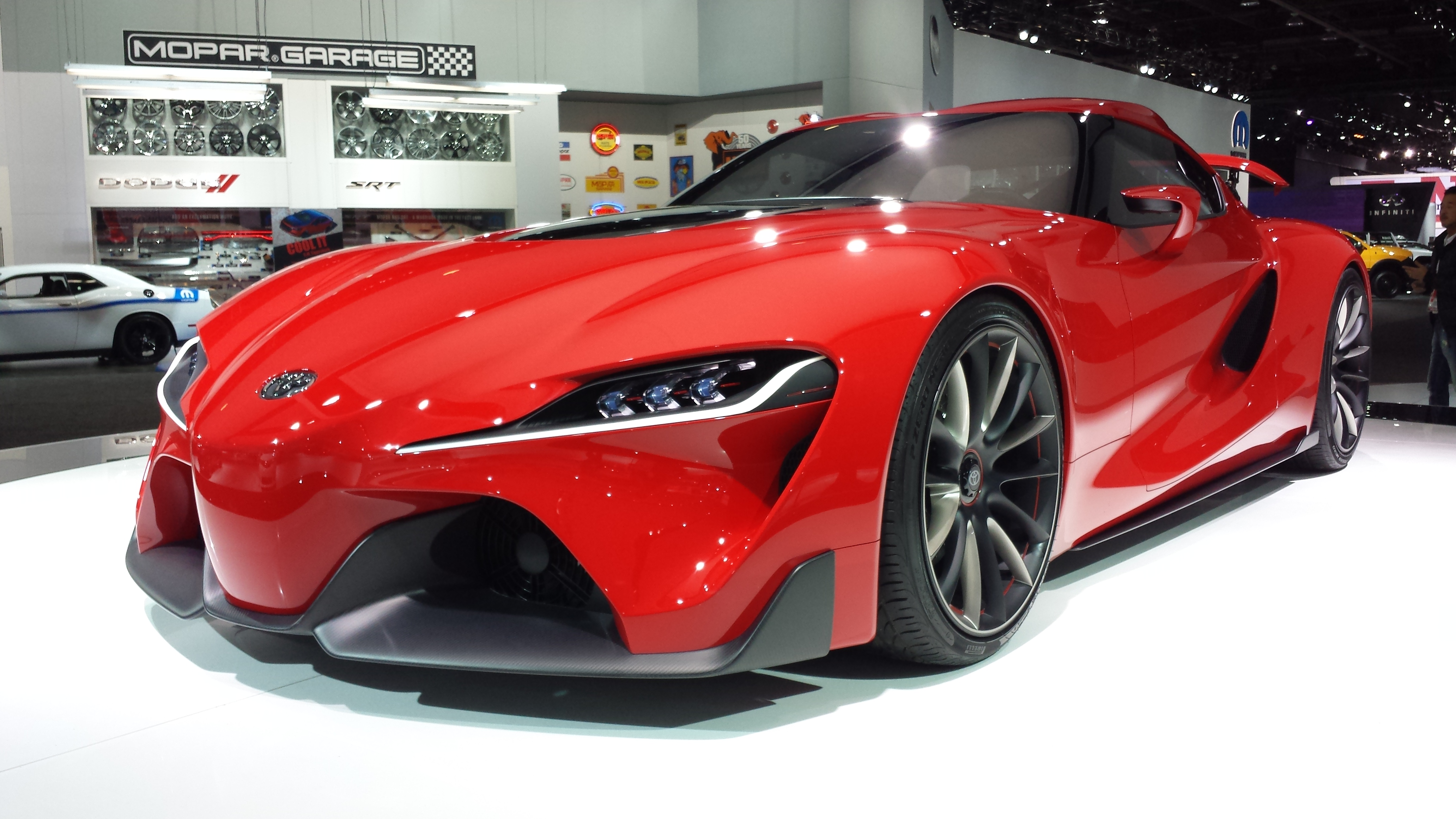 Toyota Ft1 Price >> Toyota FT-1 Concept is a Show Stopper!!!