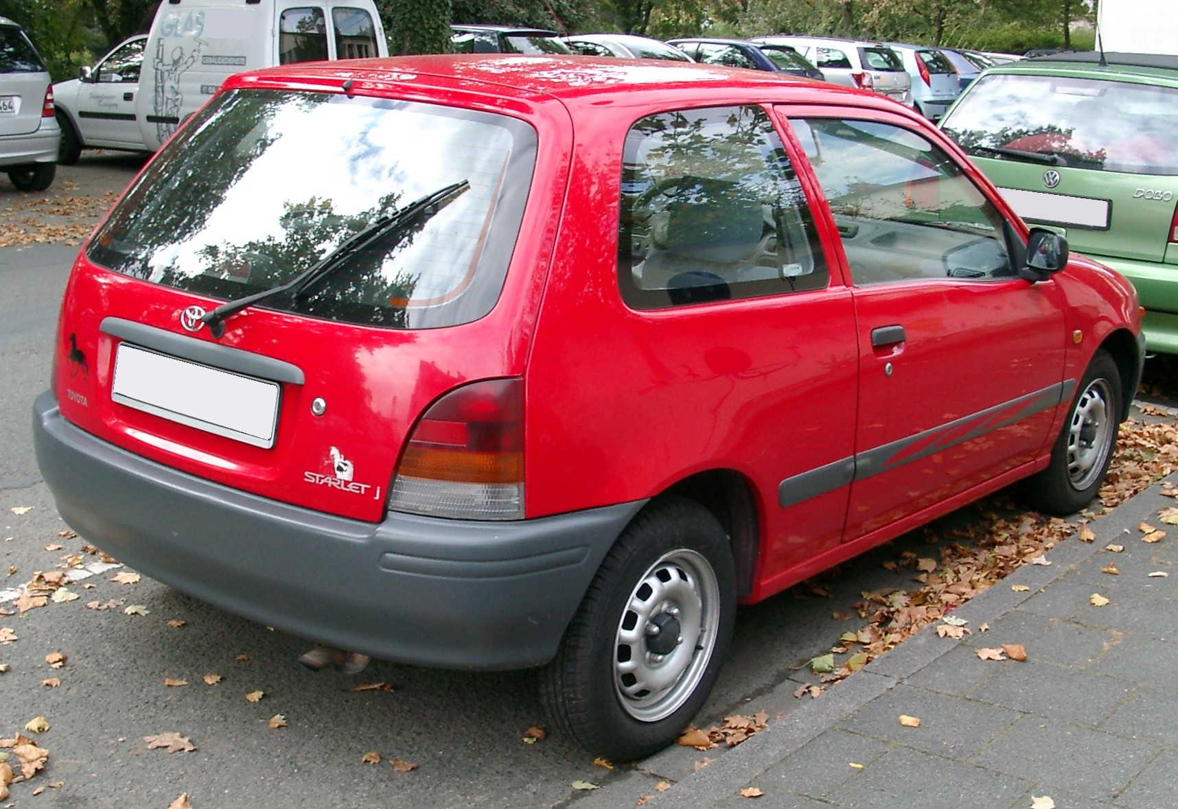 file toyota starlet rear wikimedia commons. Black Bedroom Furniture Sets. Home Design Ideas