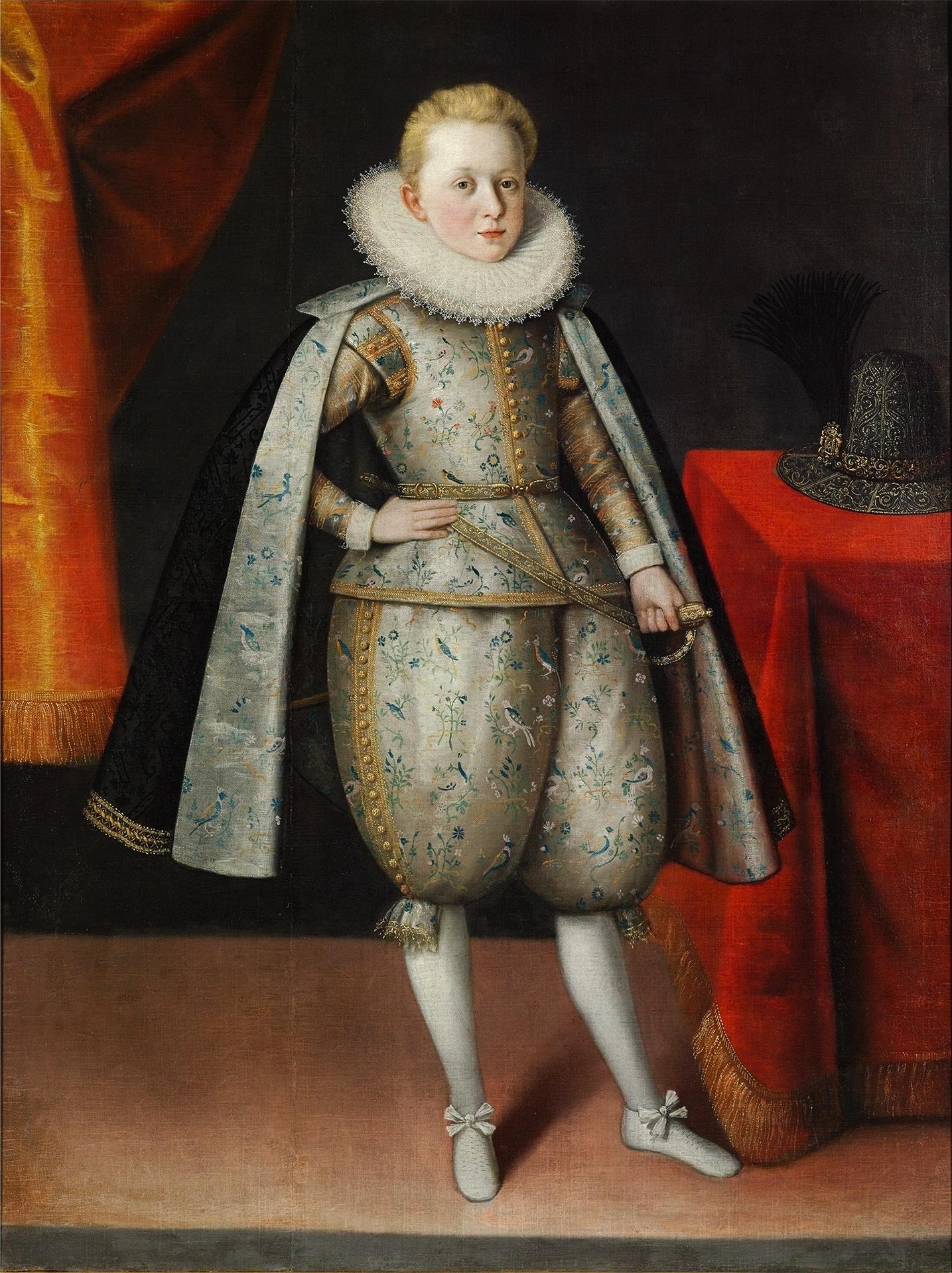 Portret królewicza Władysława Zygmunta Wazy