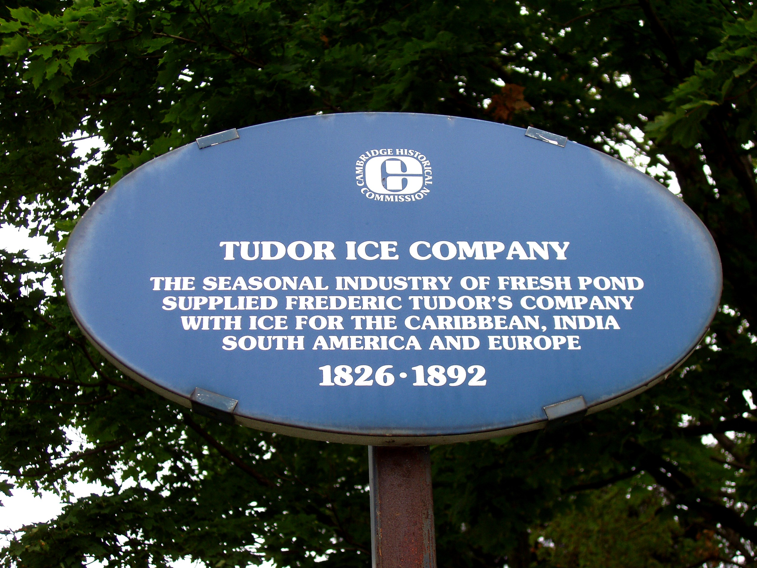 File:Tudor Ice Company - Historical Marker, Cambridge, Mass.JPG ...