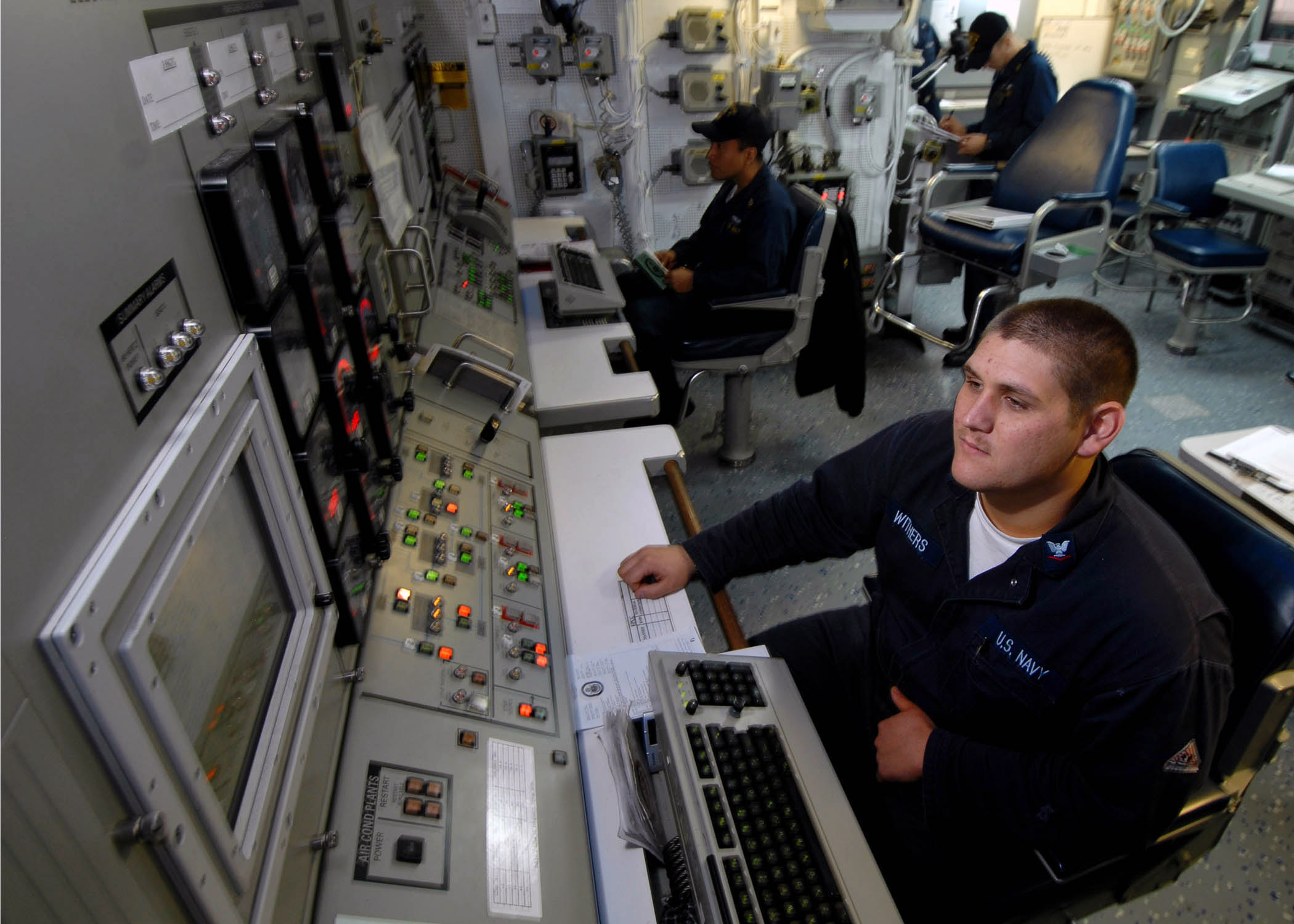 File US Navy N 7981E 172 Gas Turbine Systems Technician