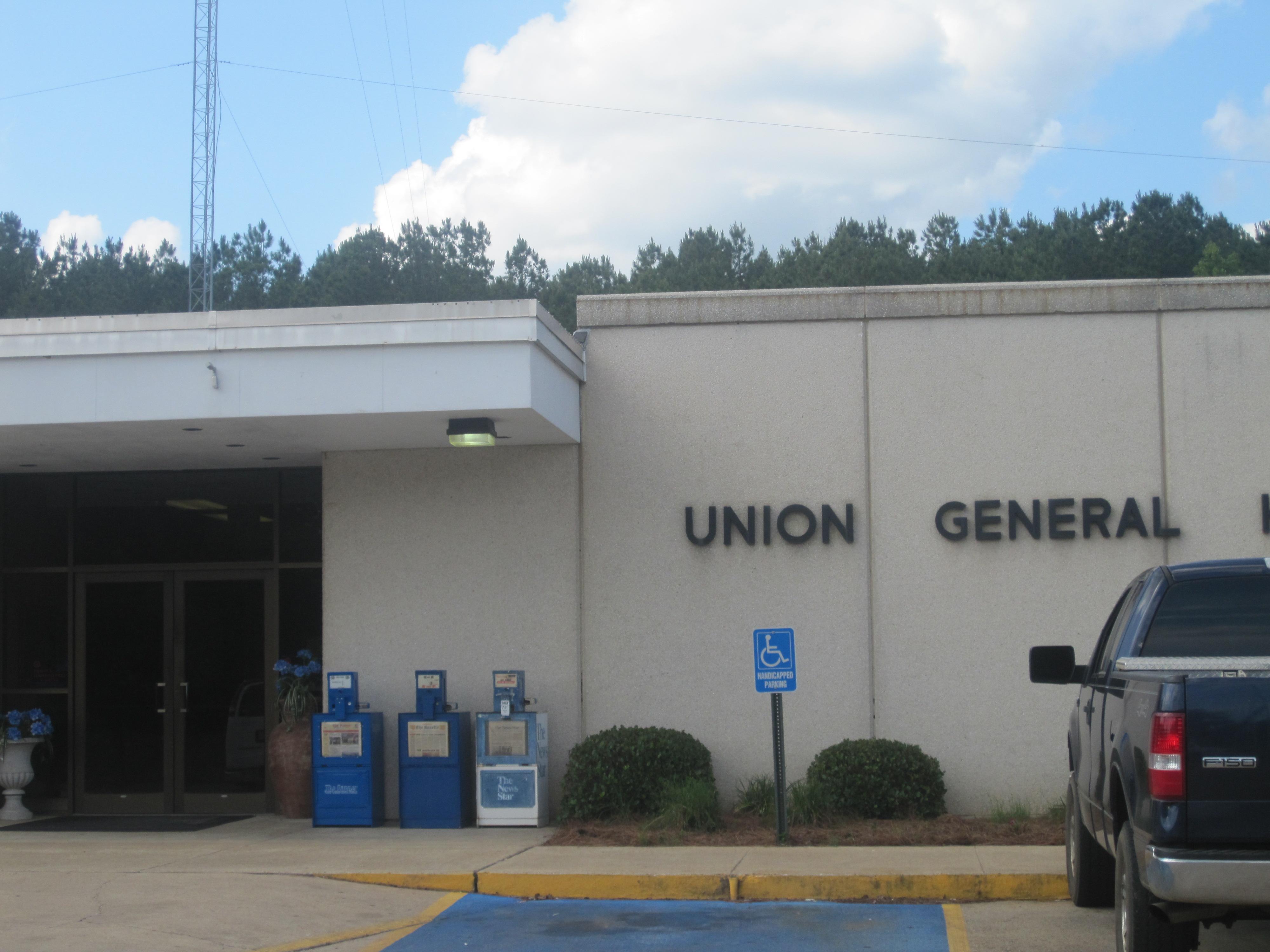 Populated places in union parish louisiana for Bureau county metro center