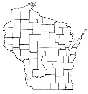Location of Pulaski, Wisconsin