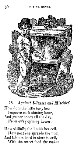 """Against Idleness and Mischief"""