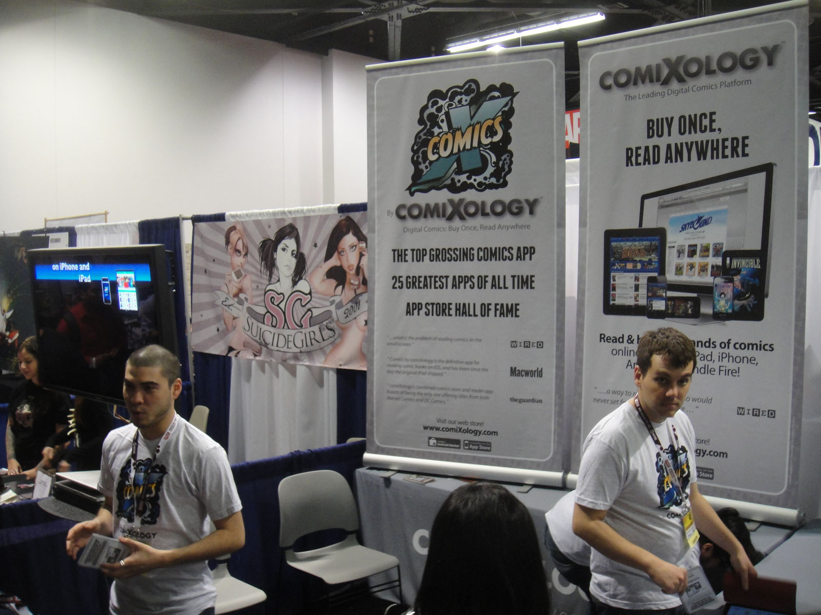 WonderCon 2012 - ComiXology booth (7019133891).jpg