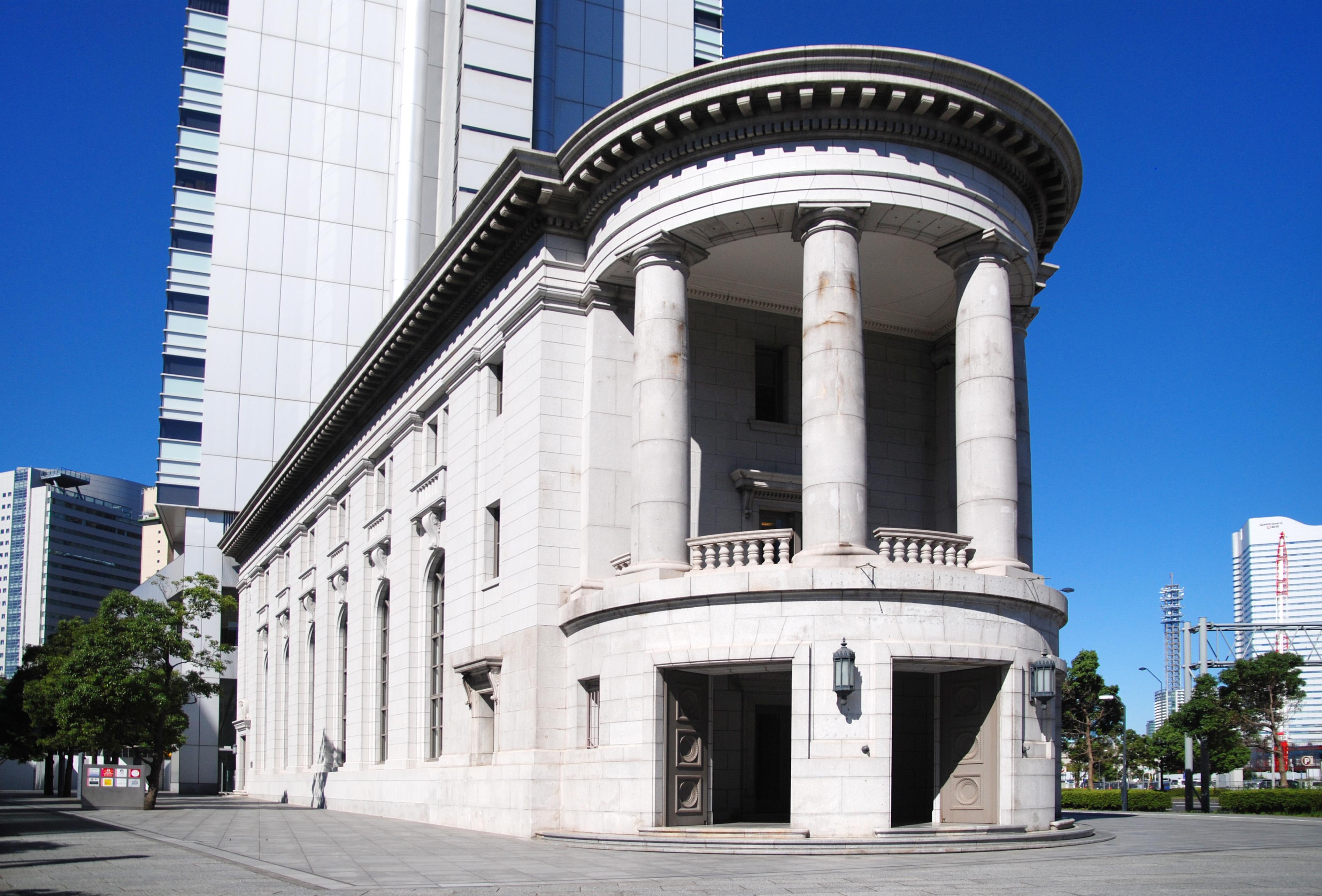 「神奈川県横浜市中区本町6丁目:旧第一銀行横浜支店」の画像検索結果